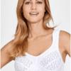 Kaarituettomat rintaliivit Miss Mary Lovely Jacquard valkoinen