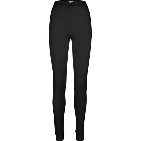 Pure Silk mustat pitkä alushousut Lady Avenuelta.